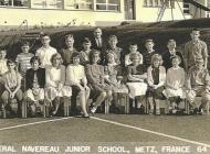 Grade 8 B<BR>Back Row L-R: 1. Michael Easton, 2. ????, 3. Gordon