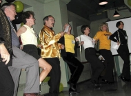 Left to Right: David Godwin, Joan Murray, Frank Kellerman, Nancy