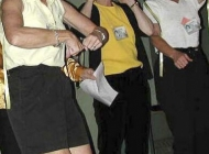 Joan Murray (Myles), Nancy Drew (Lucas) and Glenda Gilbert