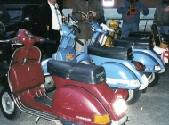 Lambrettas and Vespas bring back old memories.