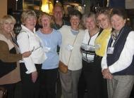 Gwen Austin, Sharon Kitchen, Nancy Wright, Token Guy, Marjorie B
