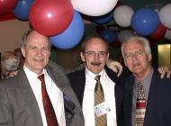 Dave Ledoux, Frank Kellerman and Ed Doucet
