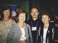Carolyn kellerman, Glenda Gilbert, Frank Kellerman and Joan Murr