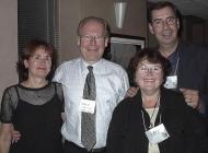 L to r: Louise Turner, Steve Turner, Christine St-Jean, Bill St-