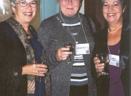 Mary Bowlby, Carolyn Milford, Norma Doucet