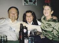 Rick Bennett, Renee the Mess Manager and Lynne Bennett