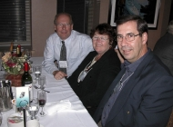 left to right â?? Steve Turner, Christine St. Jean , Bill St. Je