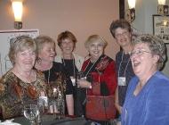 L to r: Sharon Kitchen, Bert Wray, Judy Hendron, Guen Austin. Ma