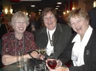 Some Teachers<BR>Mary Janet van den Bergh, Ev shultz and Elaine