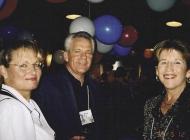 Doug and Darlene Wilson and Lynne Bennett