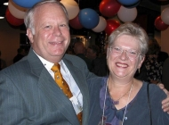 Bill Stover and Mary Moore (Huckins)