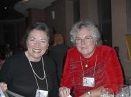Carol Gilchrist (Henderson) and Carolyn Jackson