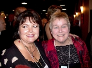 Cheryl Evans (Kalef) and Frances MacNamara