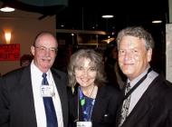 Doug Shaw, Mary Gilbert (Wood) and John Gilbert