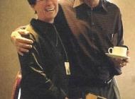 Always an imp, Joan Murray with Frank Kellerman