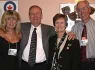 Lesley Brown, Ron Bauman, Glenda Gilbert, Bruce Brown